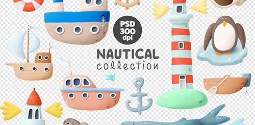 Nautical Hand-Drawn Collection