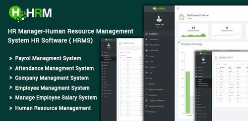 CodeCanyon - HR Manager v3.0 - Human Resource Management System HR Software (HRMS) - 20386502 - NULLED