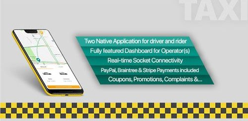 CodeCanyon - Taxi application Android solution + Dashboard v3.1