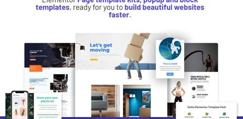 Katka Elementor Template Pack - Elementor Page Template Kits, Popup & Block Templates