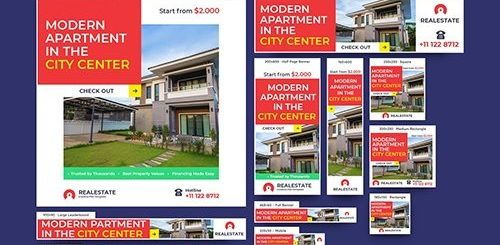 Real Estate Banners Ad