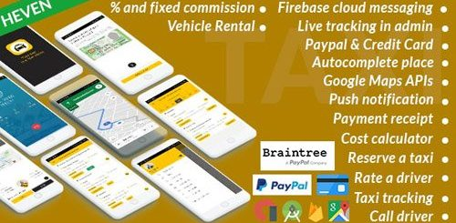 CodeCanyon - Taxi Cab v4.8 - On Demand Taxi | Complete solution - 25137864