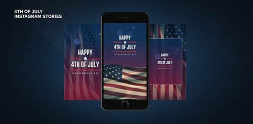4th of July Instagram Stories 27476803