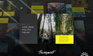 Fora - Cinematic Theme Powerpoint Template
