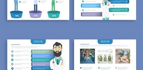 Healthy Infographics Powerpoint and Keynote