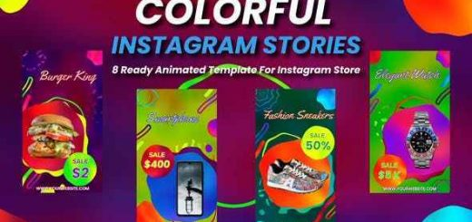 VIDEOHIVE COLORFUL INSTAGRAM STORIES