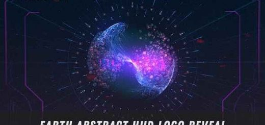 VIDEOHIVE EARTH ABSTRACT LOGO REVEAL