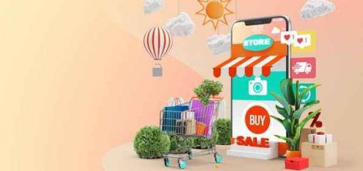 Videohive Mobile Online Shopping AE Project 28782295