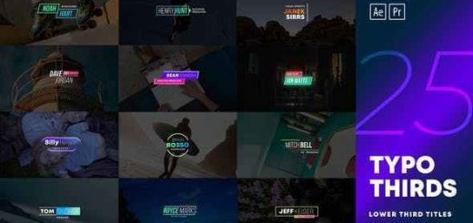 VIDEOHIVE LOWER THIRD TITLES PACK 28143676