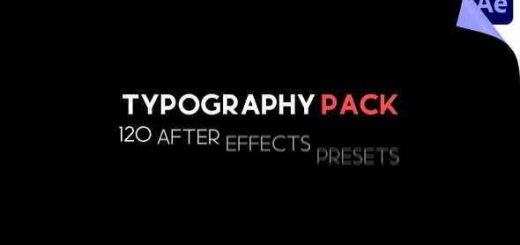 VIDEOHIVE TYPOGRAPHY PACK 29547634